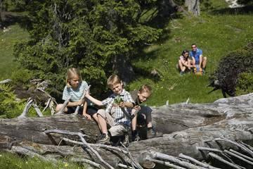 Ferien mit der Familie im Karwendel