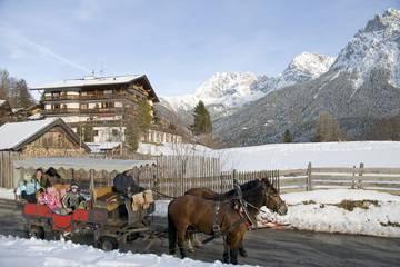 Winterurlaub in Mittenwald, Karwendel