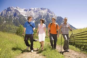 Wanderurlaub in Mittenwald im Karwendel