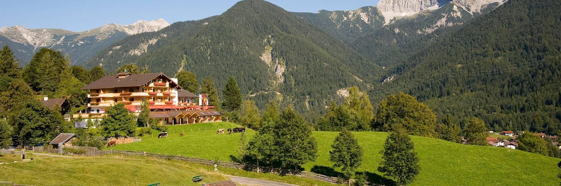 Alpengasthof Hotel Gröbl-Alm in Mittenwald