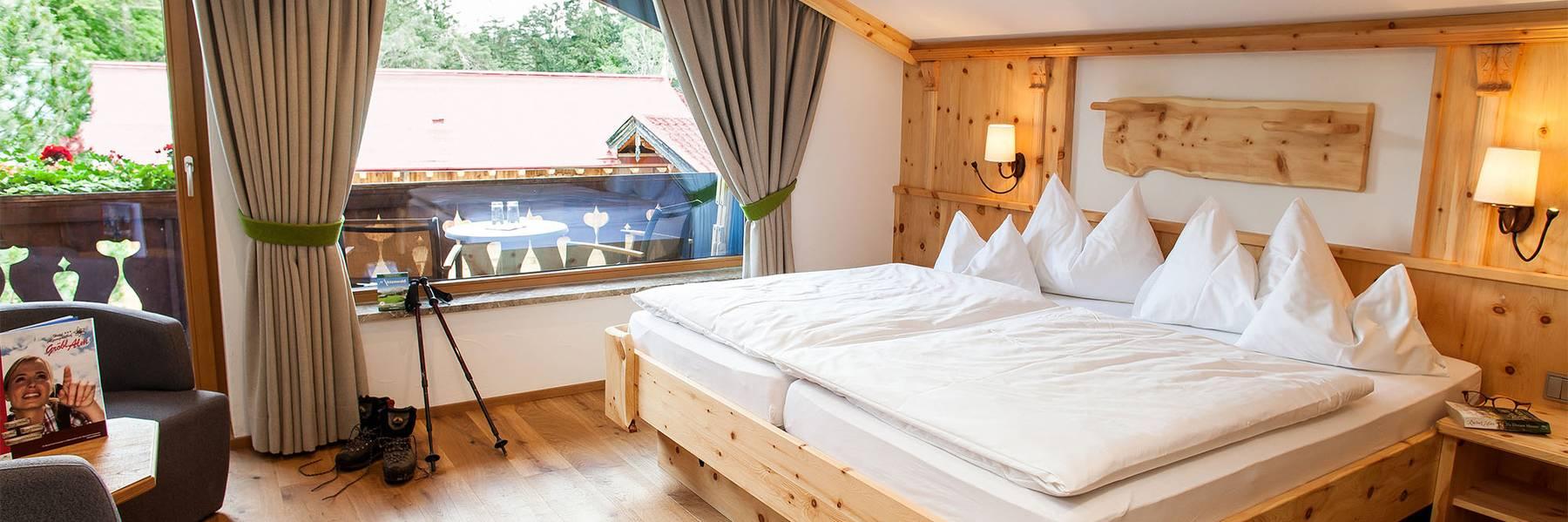 Zimmer im Alpengasthof Gröbl-Alm Mittenwald