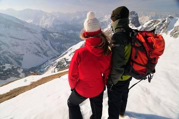 Mittenwald Karwendel Winterwandern