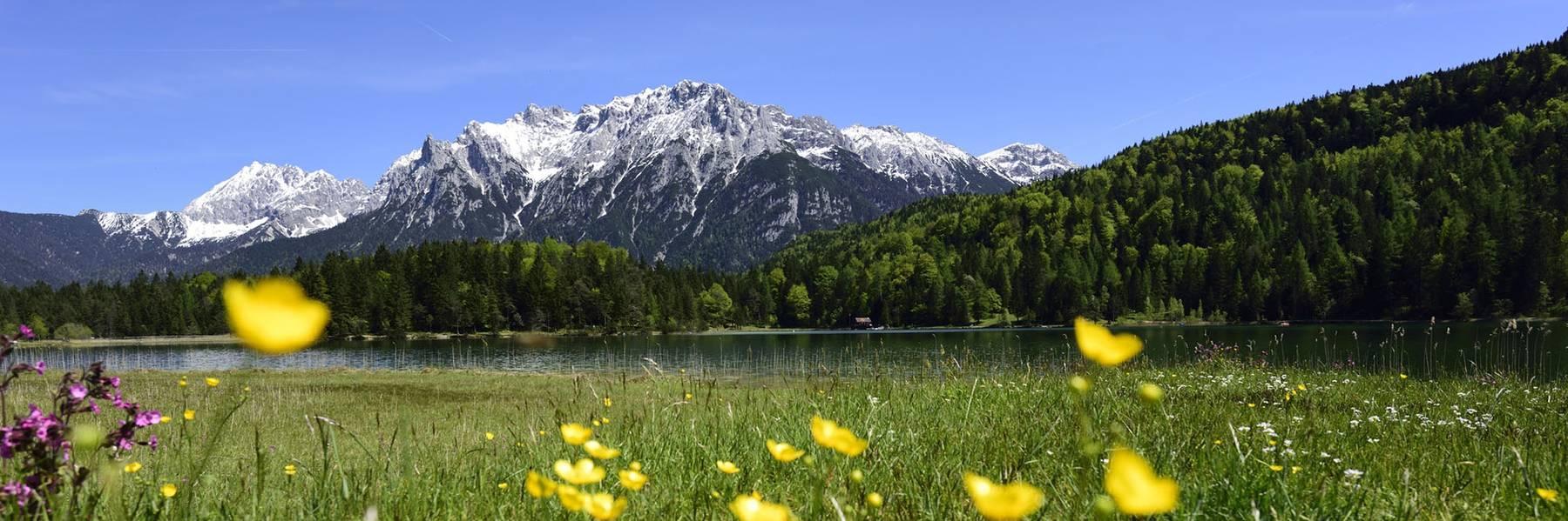 Sommerurlaub in Mittenwald