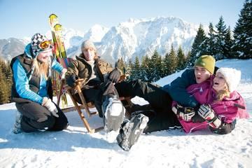 Skiurlaub mit der ganzen Familie in Mittenwald
