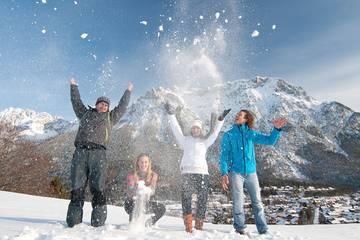 Winter Urlaub in Mittenwald, Karwendel