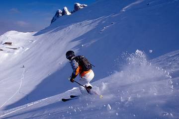 Skigebiet Kranzberg in Mittenwald im Karwendel