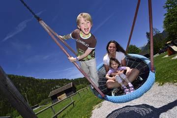 Sommerurlaub mit der Familie im Karwendel