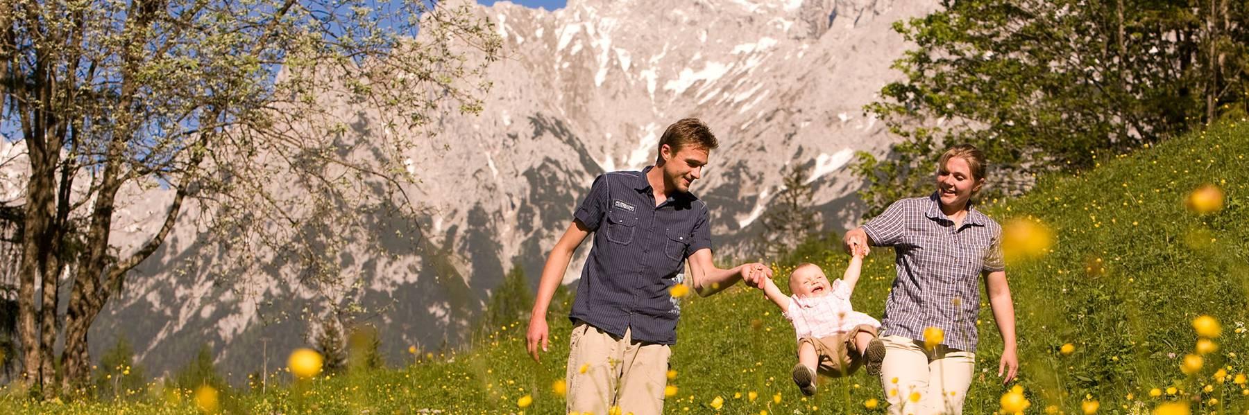 Sommer Urlaub in Mittenwald