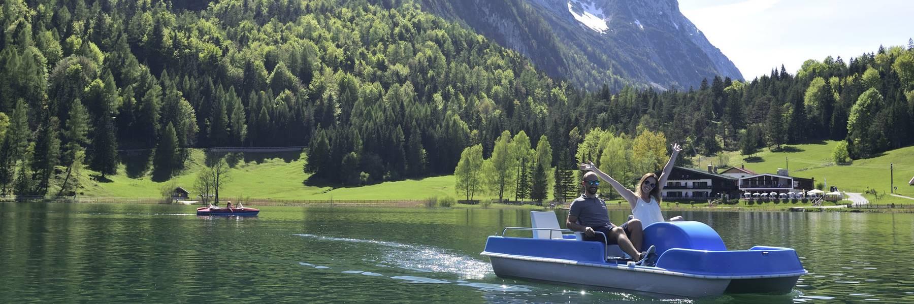 Sommerurlaub in Mittenwald im Karwendel